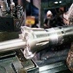 Hub and Shaft in Lathe