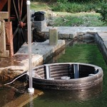 Pit and water wheel