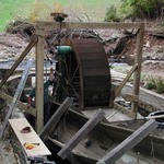 Lifting the flume