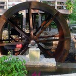 12ft Water Wheel fabricated  from COR10 steel