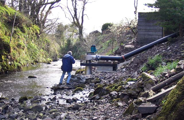 Turbine in stream